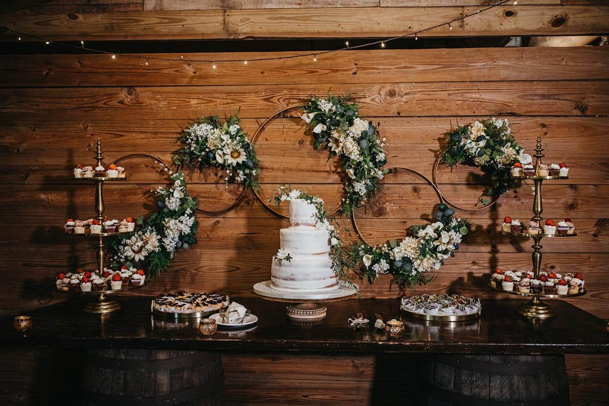 đám cưới rustic