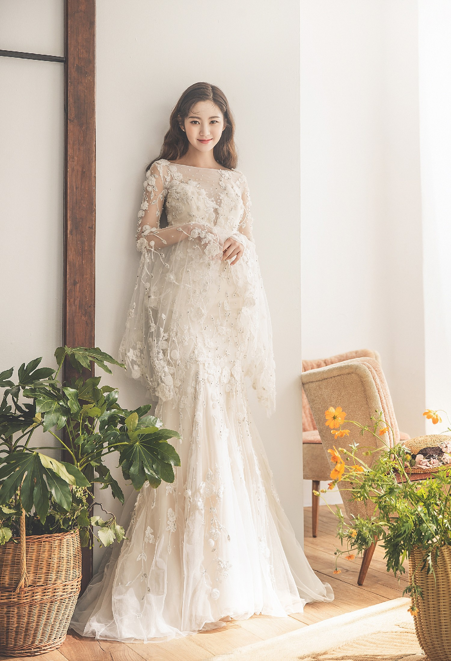 chụp hình cưới phong cách Hàn Quốc