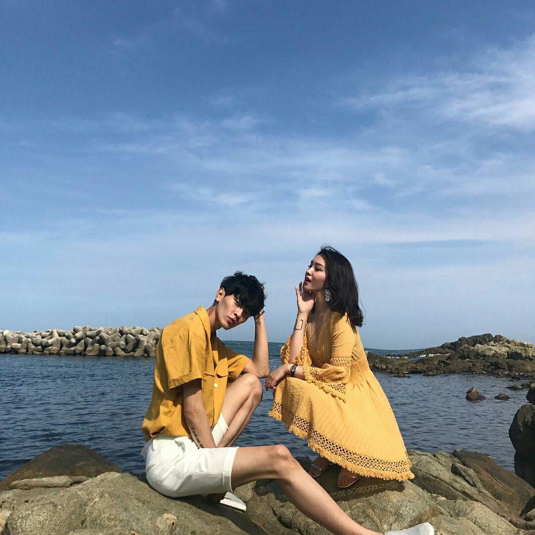 đồ đôi chụp ảnh cưới ở biển