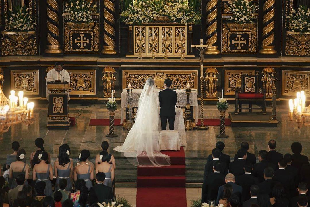 nghi lễ tổ chức đám cưới công giáo