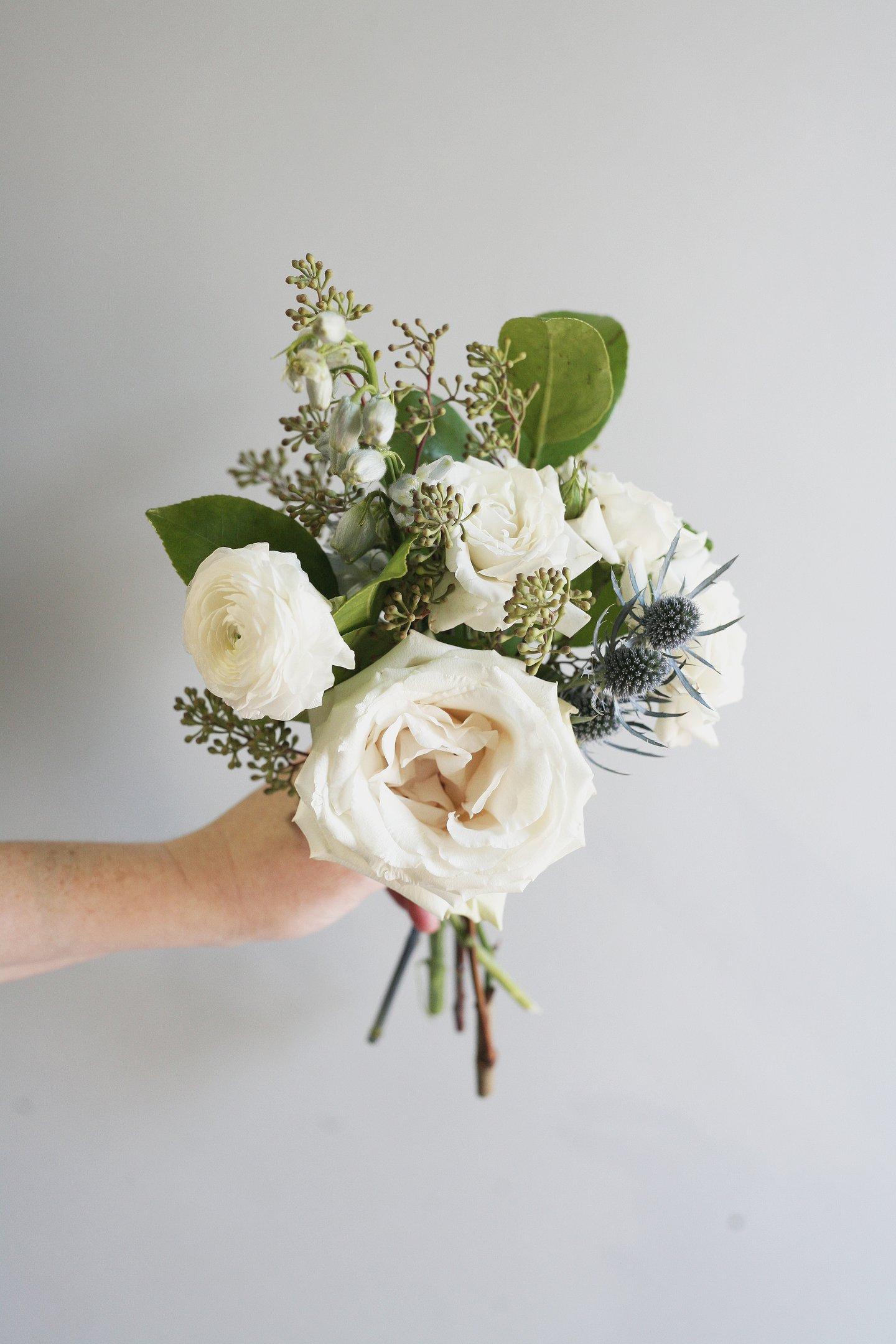 hoa cưới nosegay