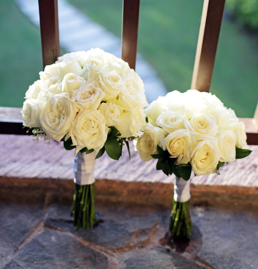 hoa cưới tròn đẹp