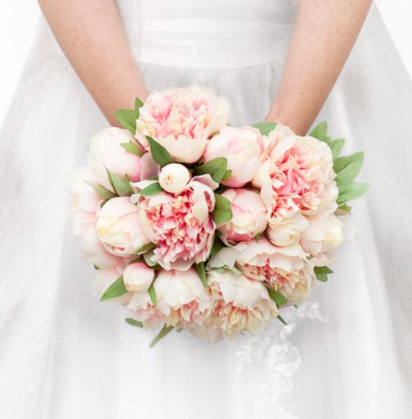 hoa cưới tròn