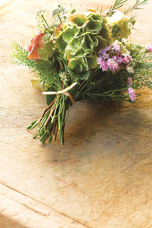 hoa cưới bó tay