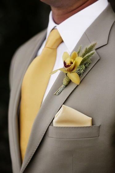 trang trí đám cưới màu vàng