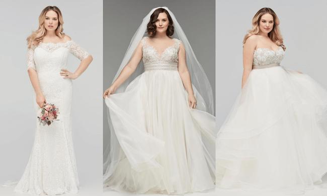 váy cưới cho cô dâu mập mạp