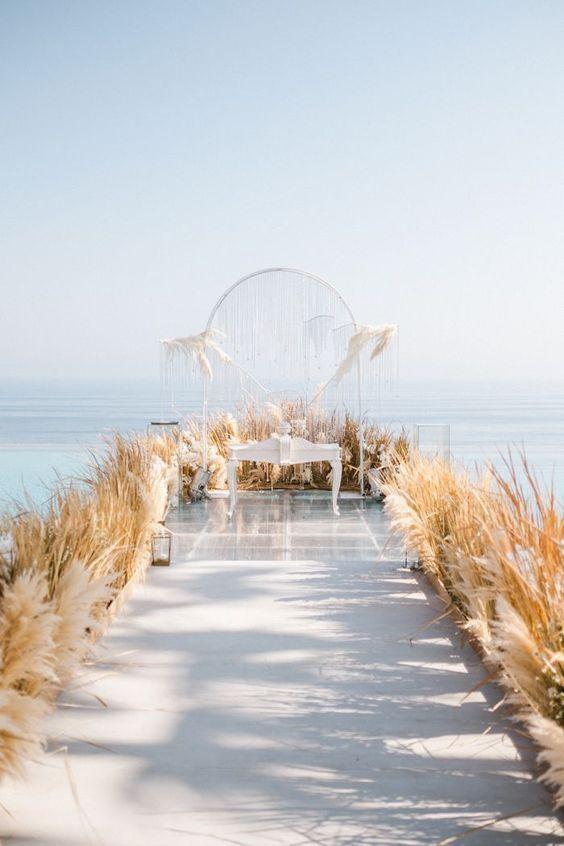 lối đi tiệc cưới