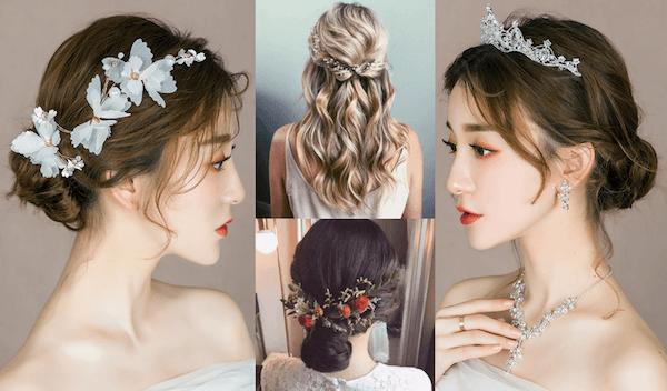 tóc cưới