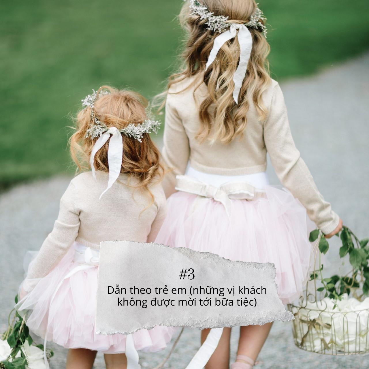 những điểu cần tránh khi đi dự đám cưới