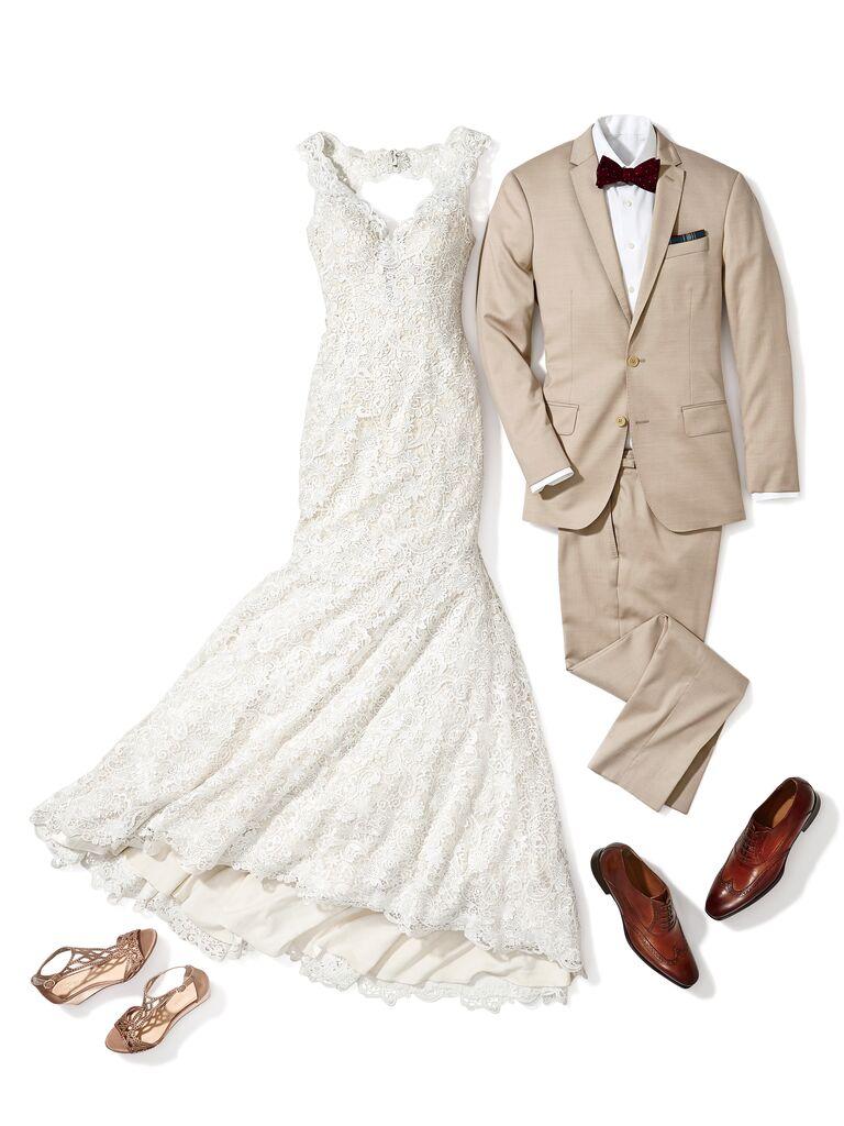 Váy cưới cô dâu theo phong cách Rustic Wedding Marry