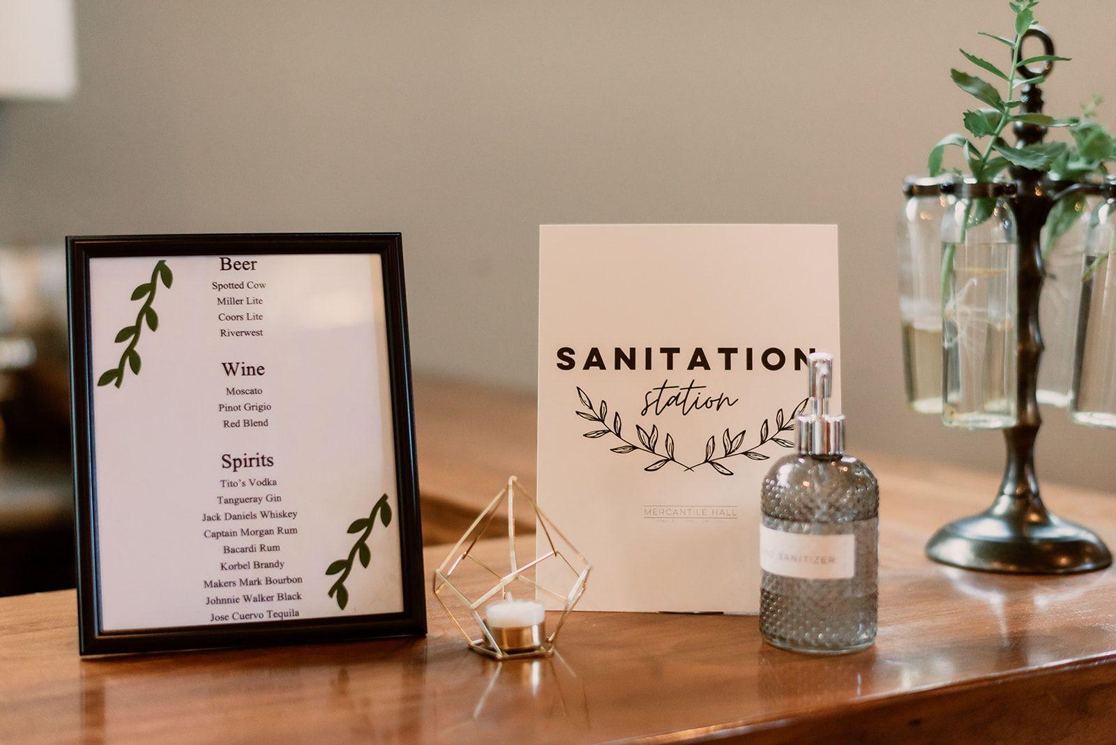 Cung cấp nước rửa tay cho tiệc cưới mùa covid-19