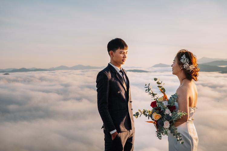 thời điểm đẹp để chụp ảnh cưới tại Đà Lạt