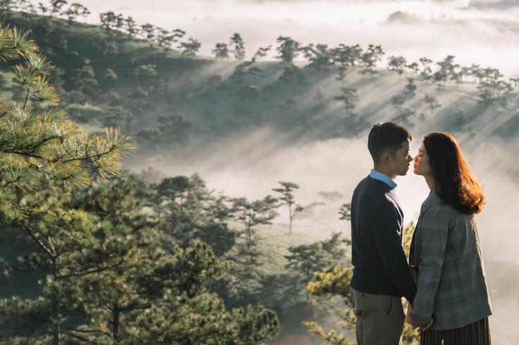 chụp ảnh cưới Đà Lạt