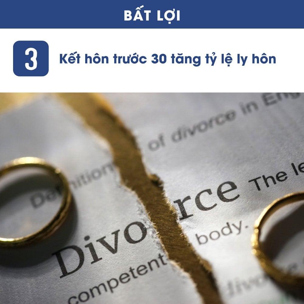 lời và hại khi kết hôn ở độ tuổi 20 và 30