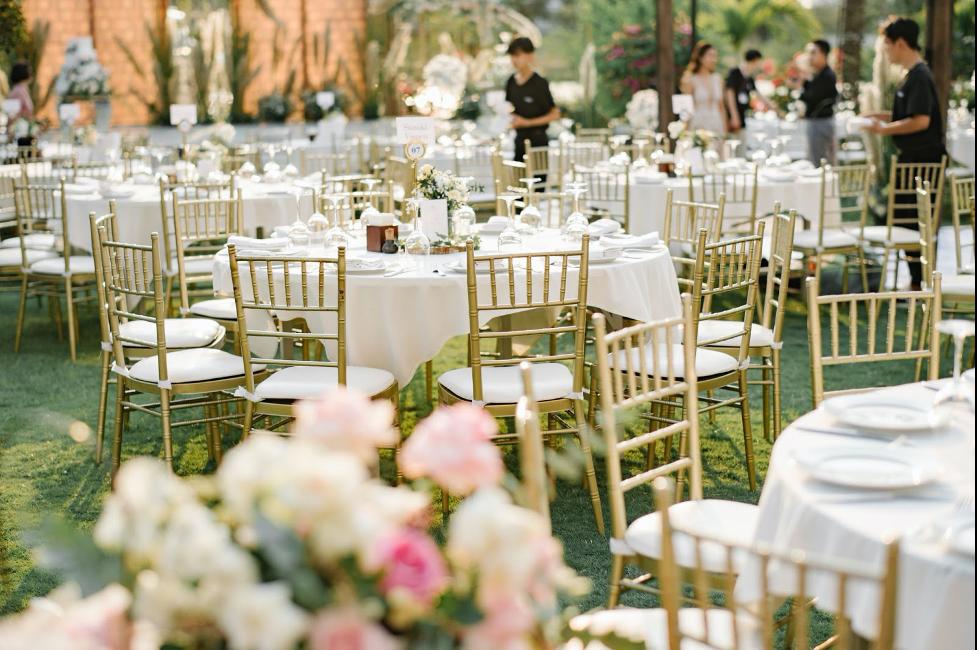 tiệc cưới tây
