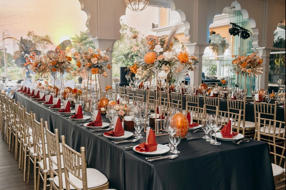 tiệc cưới sang trọng