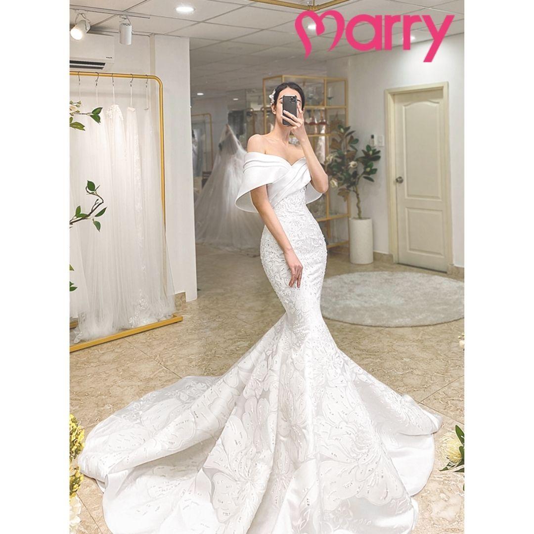 những mẫu váy cưới đẹp nhất 2021 - 1