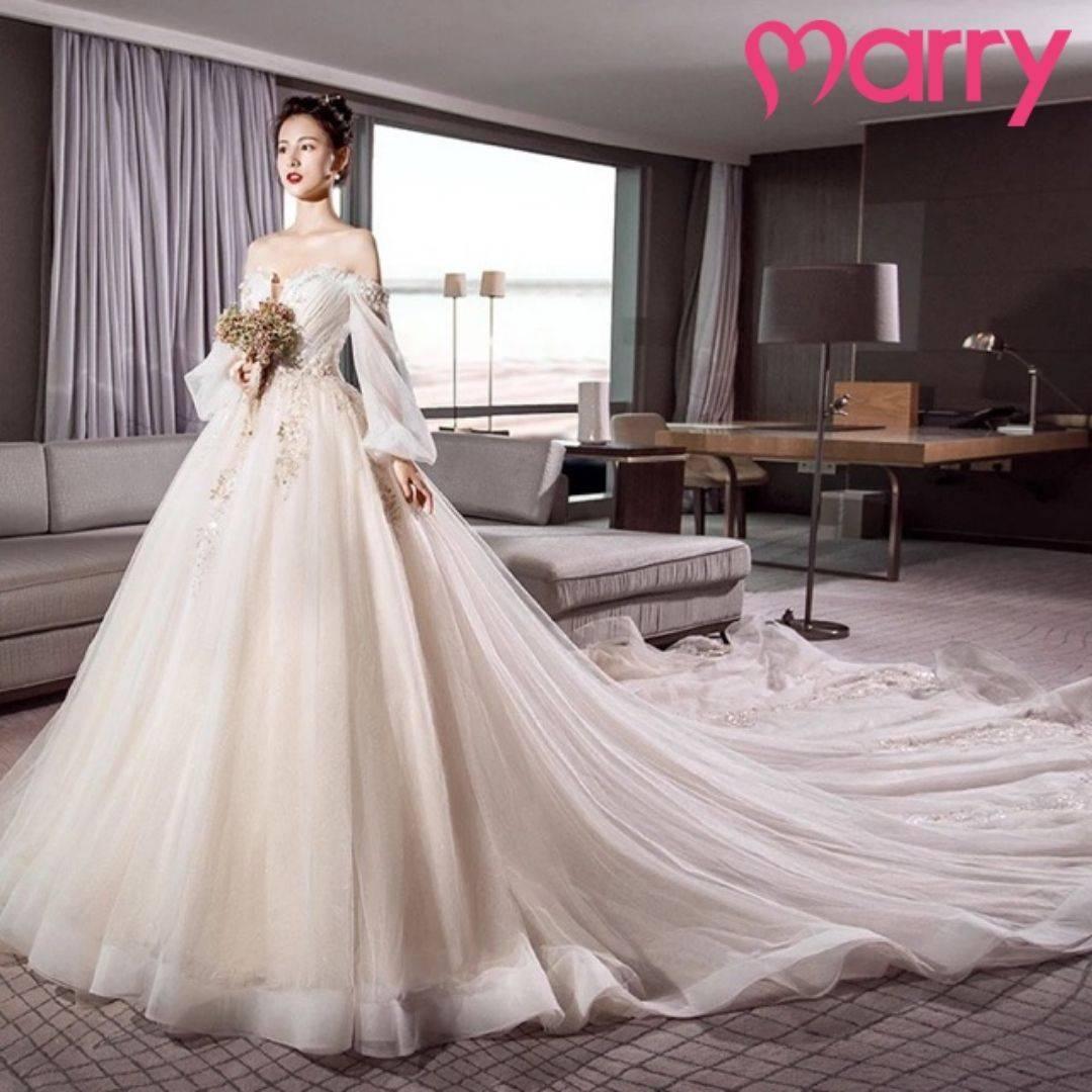 những mẫu váy cưới đẹp nhất 2021 - 2
