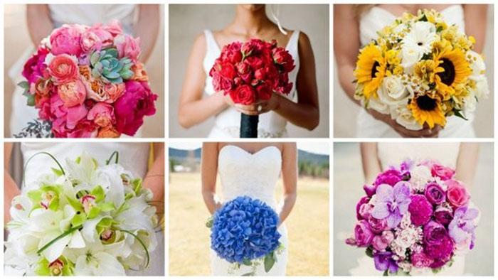 Ý nghĩa của những màu sắc hoa trang trí đám cưới