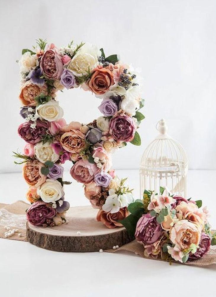Hoa handmade trang trí tiệc cưới