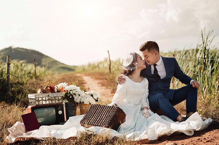 Chuẩn bị chụp ảnh cưới