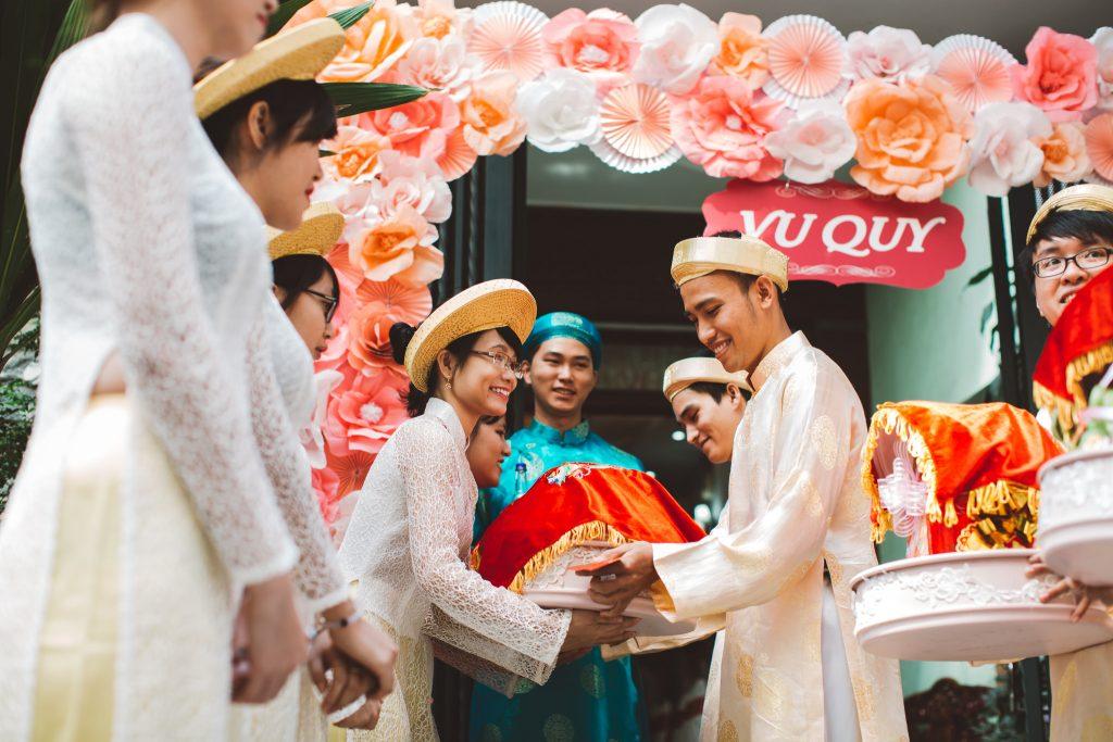 Quy trình bưng quả đám cưới trong lễ hỏi