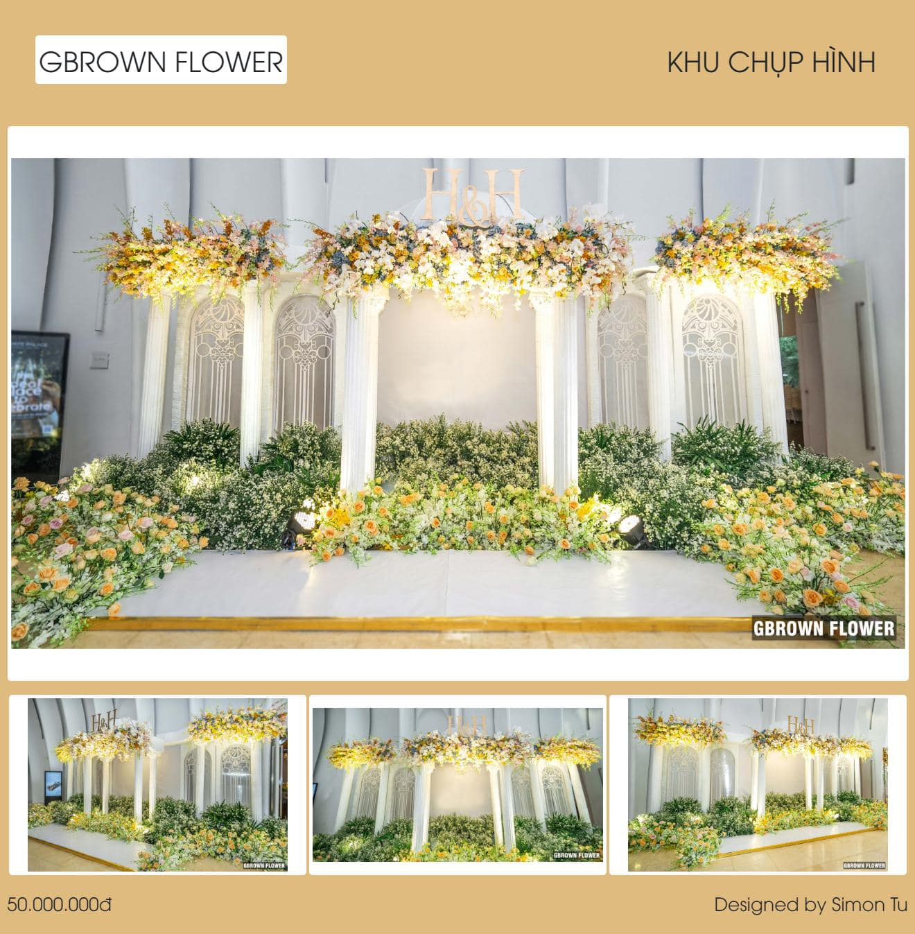 gbrown flower Marry