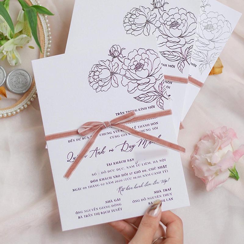 Cung cấp những thông tin cần thiết liên quan đến đám cưới