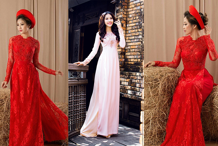 Cách chọn áo dài cưới