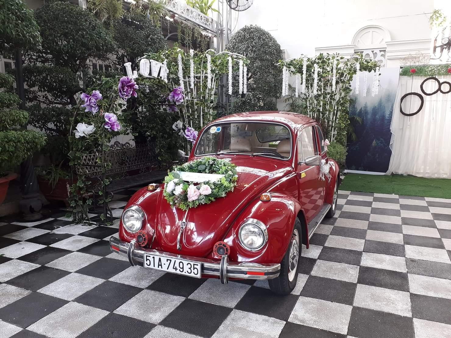 xe hoa thảo trang Marry