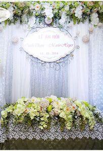 Tổ chức sự kiện cưới hỏi Song Huyền chuyên Wedding planner tại Hà Nội - Marry.vn