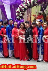 Dịch Vụ Bê Tráp Ăn Hỏi Lại Hằng chuyên Trang phục cưới tại Hà Nội - Marry.vn