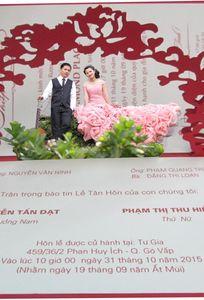 Wedding invitation - THIEPCUOIMAUMOI.COM chuyên Thiệp cưới tại TP Hồ Chí Minh - Marry.vn