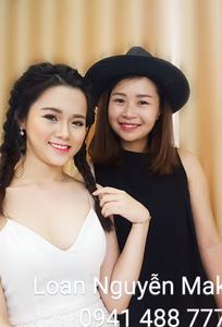 Loan Nguyễn Make-Up Artist chuyên Trang điểm cô dâu tại Đà Nẵng - Marry.vn