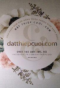 Đặt thiệp cưới chuyên Thiệp cưới tại Tỉnh Ninh Thuận - Marry.vn