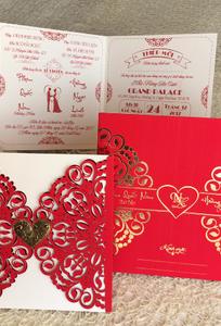 In thiệp cưới khuyến mãi - Wedding Invitation chuyên Thiệp cưới tại Thành phố Hồ Chí Minh - Marry.vn