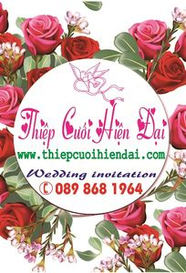 Thiệp Cưới Hiện Đại chuyên Thiệp cưới tại Thành phố Hồ Chí Minh - Marry.vn