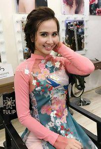 Áo dài thêu tay Tulip chuyên Trang phục cưới tại Hà Nội - Marry.vn