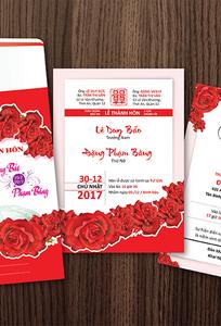Thiệp cưới in hình cô dâu chú rể giá rẻ Nguyện chuyên Thiệp cưới tại Thành phố Hồ Chí Minh - Marry.vn