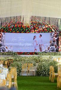 tiệc cưới tại nhà hàng Sân Golf Sông Bé