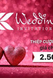 Thiệp cưới KK chuyên Thiệp cưới tại Thành phố Hồ Chí Minh - Marry.vn