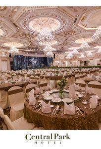 sảnh tiệc Trung tâm hội nghị tiệc cưới The Mira Central Park
