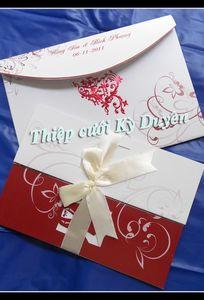 Thiệp cưới Kỳ Duyên chuyên Thiệp cưới tại Bến Tre - Marry.vn