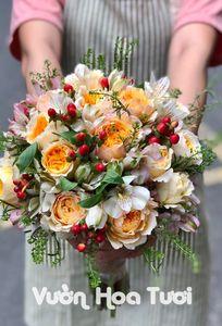 Cửa Hàng Hoa Cưới Vườn Hoa Tươi chuyên Hoa cưới tại Thành phố Hồ Chí Minh - Marry.vn