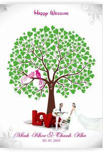 Tranh Vân Tay Seagull chuyên Quà cưới tại Thành phố Hồ Chí Minh - Marry.vn