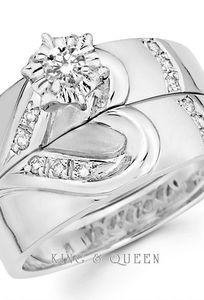 King & Queen Jewelry chuyên Nhẫn cưới tại  - Marry.vn