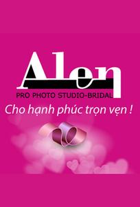 Logo Hệ thống cửa hàng dịch vụ ngày cưới ALEN