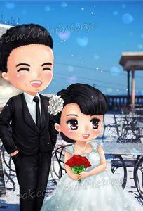 Vẽ Chibi Hình Cưới chuyên Chụp ảnh cưới tại Thành phố Hồ Chí Minh - Marry.vn