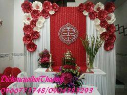 Gia tiên màu đỏ - Dịch vụ cưới hỏi Thảo My
