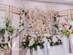 Gói Trang Trí Gia Tiên Hồng - Vàng Đồng Diệu Linh - Đức Minh - Your Dreams Wedding & Event